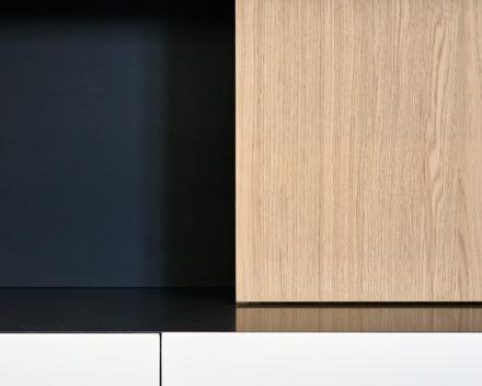 Haard en TV meubel